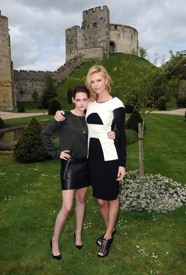 Kristen Stewart Charlize Theron Arundel Castle