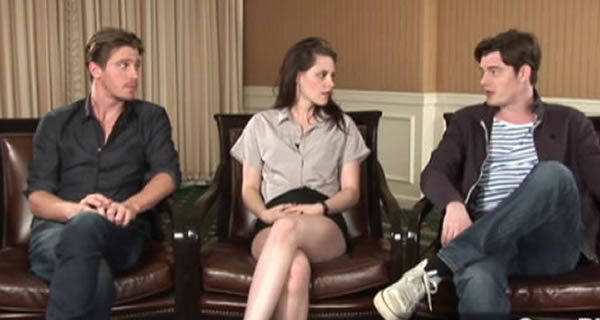 Kristen Stewart interview Garrett Hedlund Sam Riley
