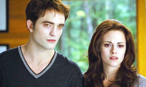 Kristen Stewart Robert Pattinson Breaking Dawn - Part 2 Bella and Edward