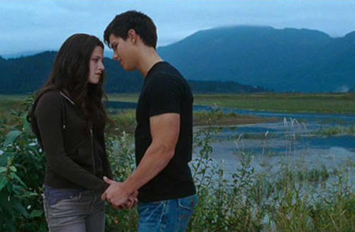Kristen Stewart, Taylor Lautner, The Twilight Saga: Eclipse