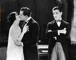 May McAvoy, Bert Lytell, Ronald Colman in Lady Windermere's Fan