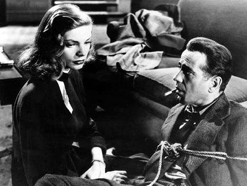 Lauren Bacall, Humphrey Bogart, The Big Sleep