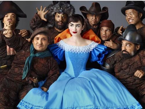 Lily Collins, Mirror Mirror, Snow White Seven Dwarves