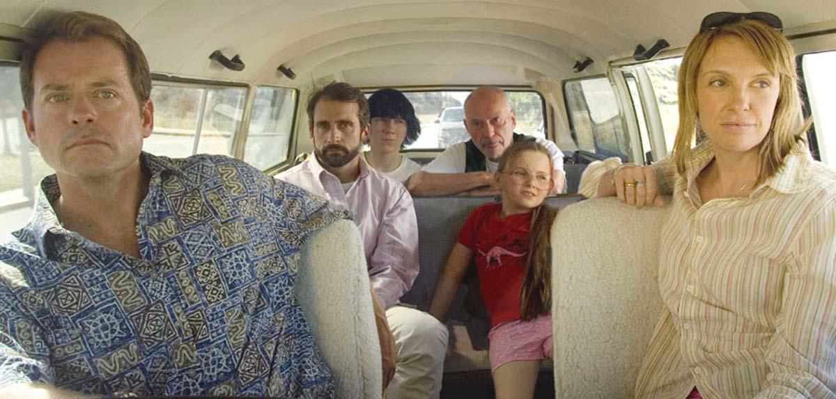 Little Miss Sunshine movie Greg Kinnear Toni Collette Alan Arkin Steve Carell