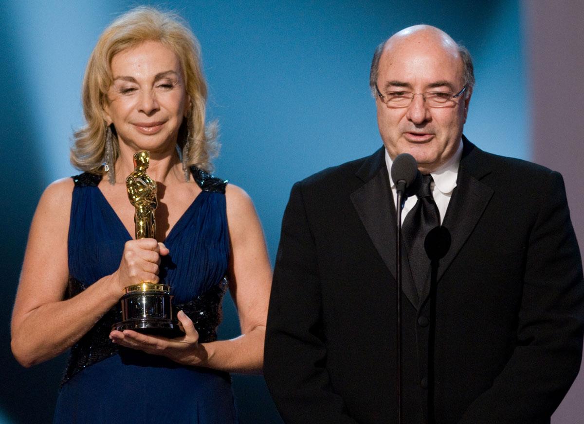 Francesca Lo Schiavo, Dante Ferretti - Oscar 2008