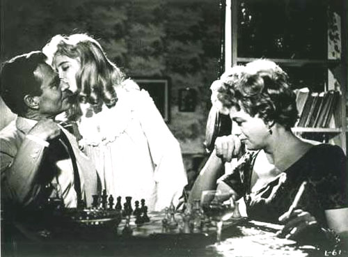 James Mason, Sue Lyon, Shelley Winters in Lolita