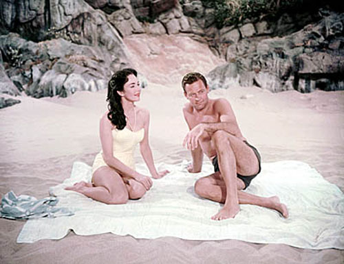 Jennifer Jones, William Holden in Love Is a Many-Splendored Thing