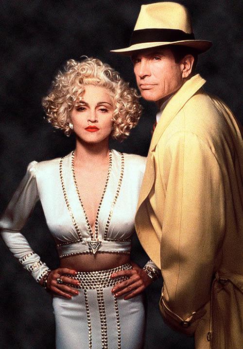 Madonna, Warren Beatty, Dick Tracy