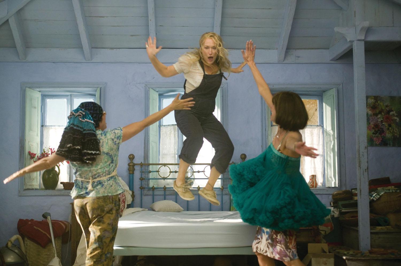 Christine Baranski, Meryl Streep, Julie Walters in Mamma Mia!
