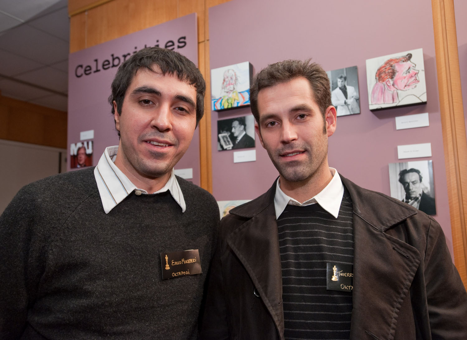 Emud Mokhberi, Thierry Marchand