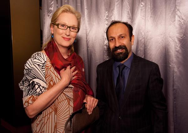 Meryl Streep Asghar Farhadi