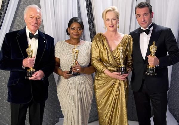 Meryl Streep Jean Dujardin Octavia Spencer Christopher Plummer