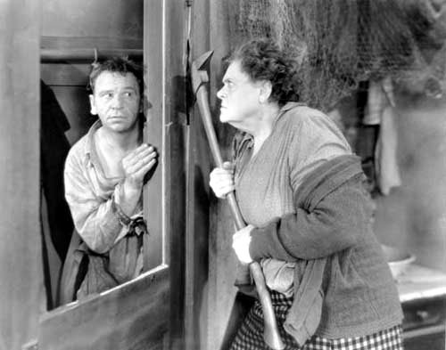 Wallace Beery, Marie Dressler in Min and Bill