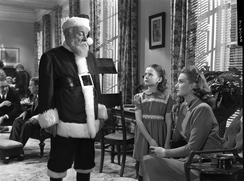 Edmund Gwenn, Natalie Wood, Maureen O'Hara in Miracle on 34th Street