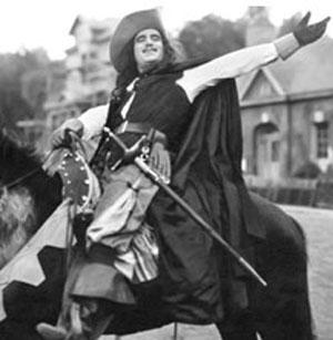 Douglas Fairbanks in A Modern Musketeer