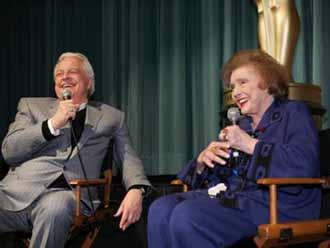 Patricia Neal and Robert Osborne