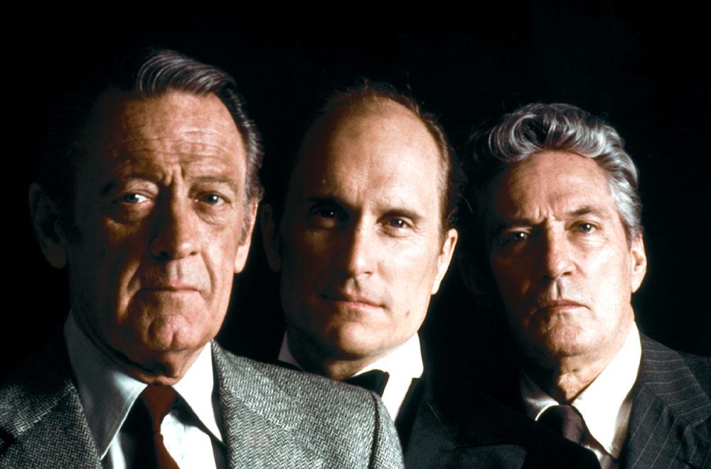 William Holden, Robert Duvall, Peter Finch in Network
