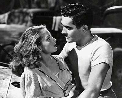 Coleen Gray, Tyrone Power in Nightmare Alley
