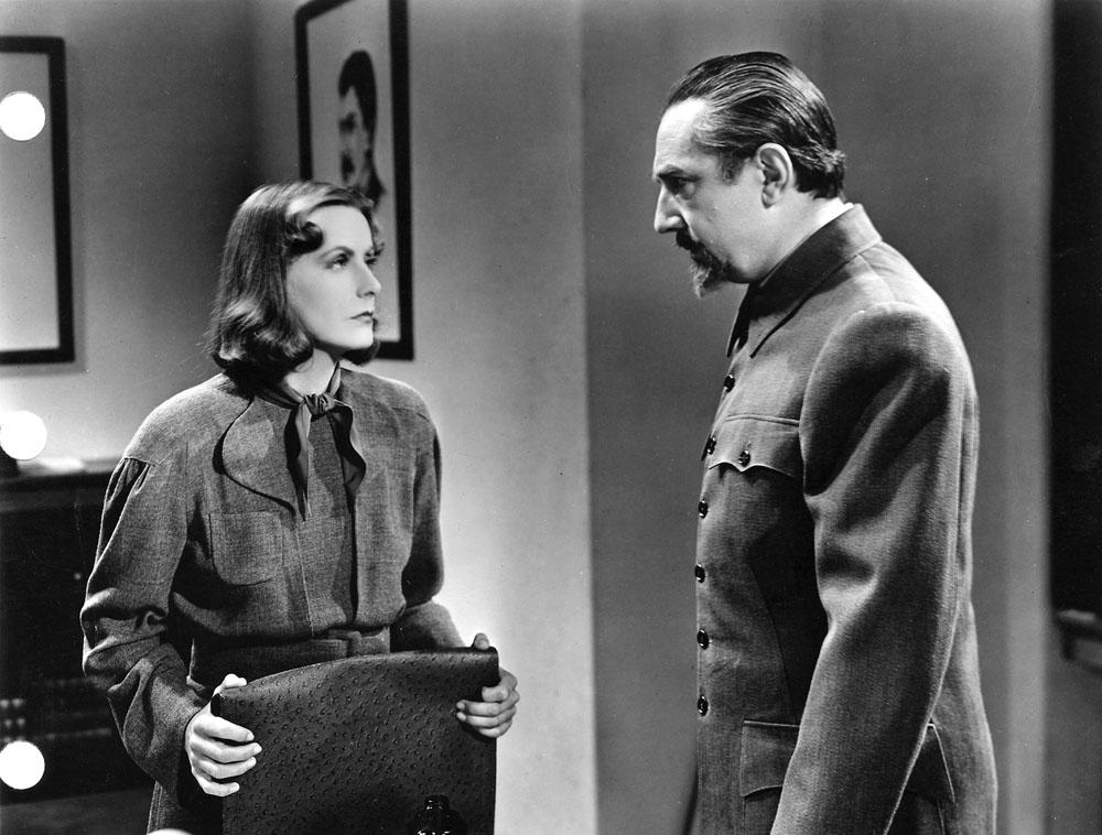 Greta Garbo, Bela Lugosi in Ninotchka