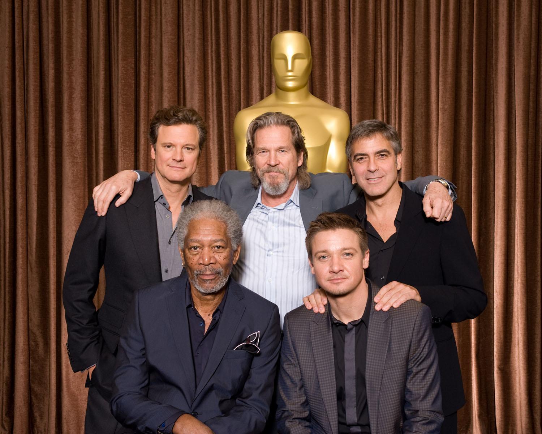Colin Firth, Jeff Bridges, George Clooney, Morgan Freeman, Jeremy Renner