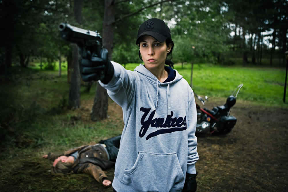 Noomi Rapace as Lisbeth Salander in The Girl Who Played with Fire
