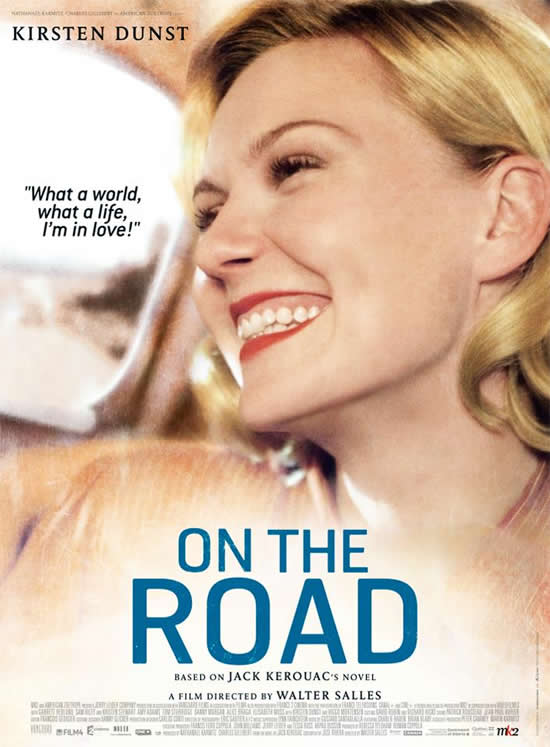 Kirsten Dunst Camille On the Road poster