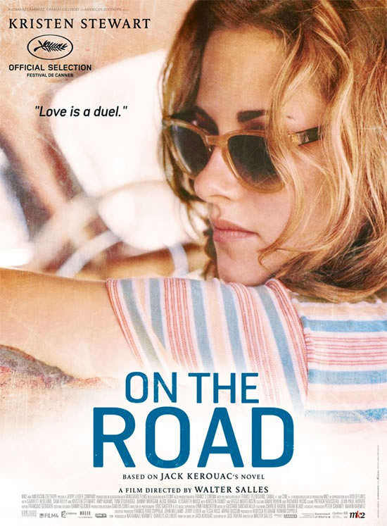Kristen Stewart Marylou On the Road poster