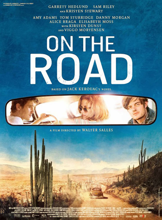 On the Road poster Walter Salles