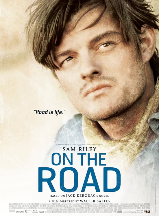 Sam Riley Jack Kerouac On the Road poster