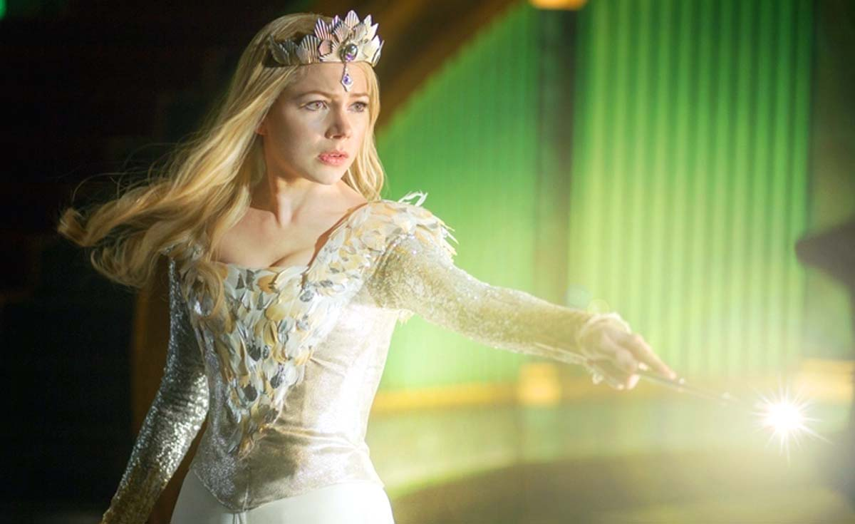 Oz the Great and Powerful Cast Michelle Williams Glinda