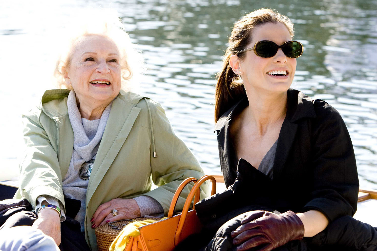 Betty White, Sandra Bullock in The Proposal