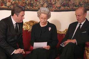 Helen Mirren, James Cromwell in The Queen