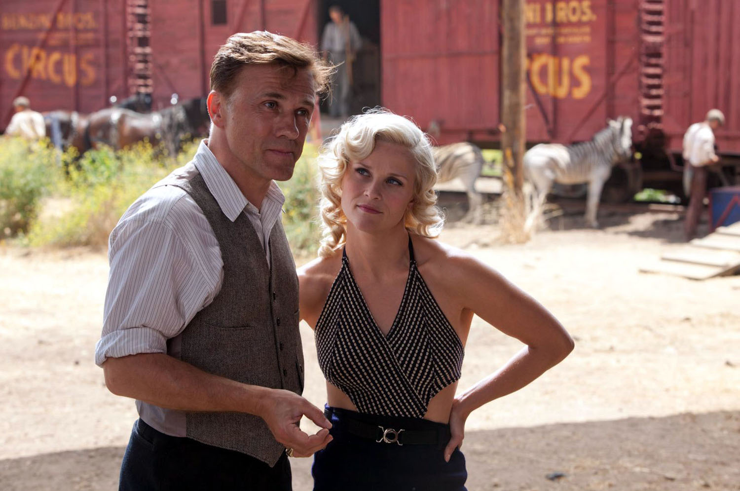 Christoph Waltz, Reese Witherspoon, Water for Elephants