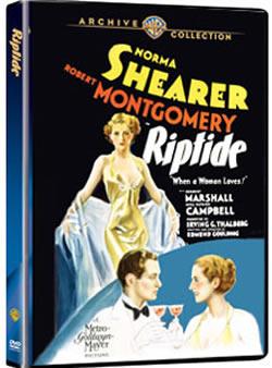 Riptide Norma Shearer, Robert Montgomery, Herbert Marshall
