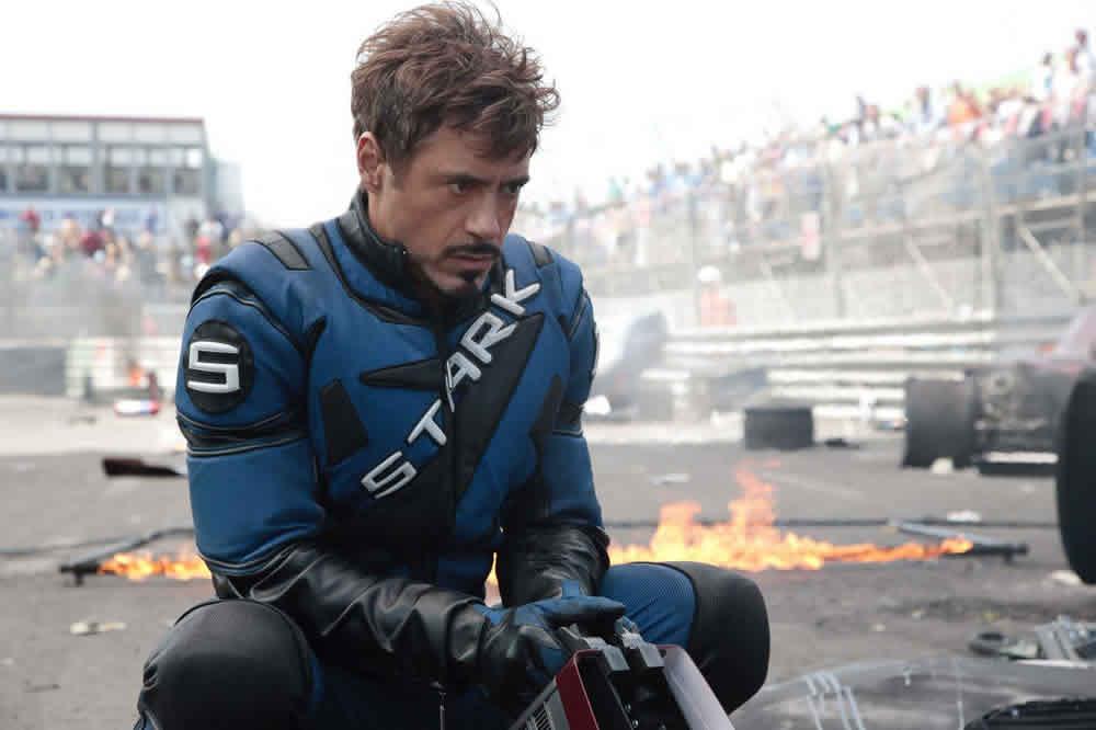 Robert Downey Jr Tony Stark Iron Man 2