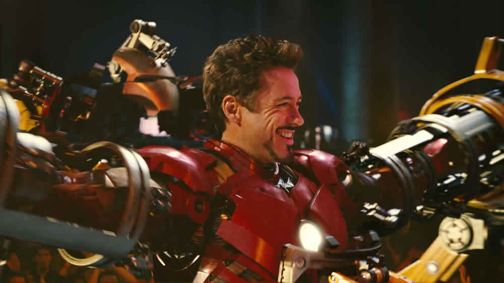 Robert Downey Jr Iron Man 2 Tony Stark Iron Suit