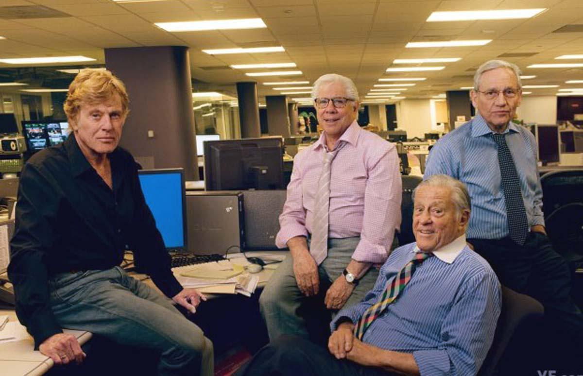 Robert Redford Watergate Bob Woodward Carl Bernstein Ben Bradlee