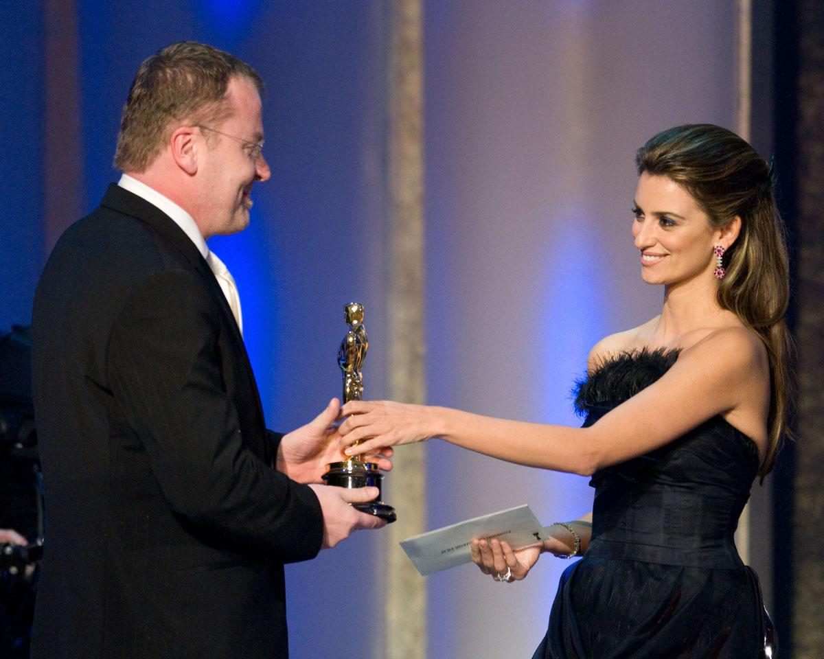 Stefan Ruzowitzky, Penélope Cruz - Oscar 2008