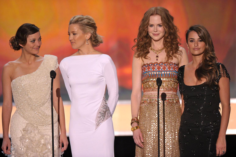 Penélope Cruz, Kate Hudson, Nicole Kidman, Marion Cotillard