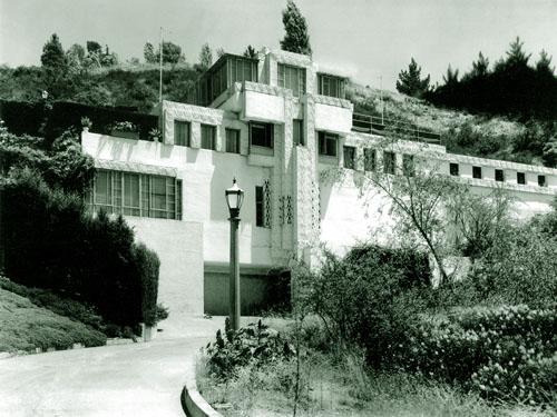 Samuel-Novarro House, Lloyd Wright, Ramon Novarro, Los Feliz