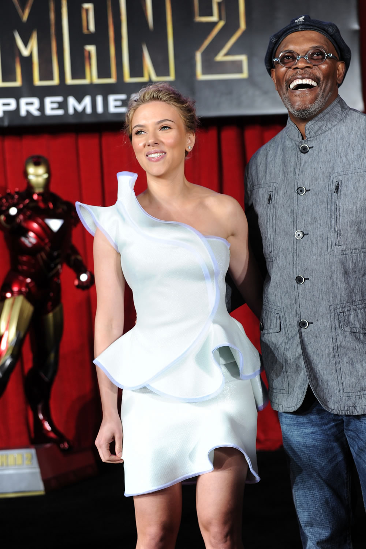 Scarlett Johansson, Samuel L. Jackson Iron Man 2