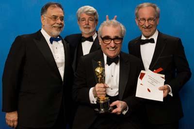 Francis Ford Coppola, George Lucas, Martin Scorsese, Steven Spielberg