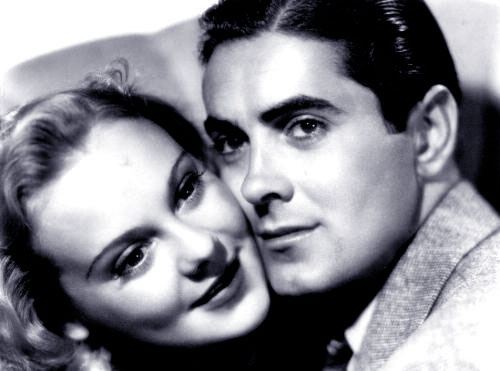 Sonja Henie, Tyrone Power in Second Fiddle