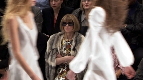 Anna Wintour in The September Issue by R. J. Cutler