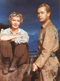 Jean Arthur, Alan Ladd in Shane