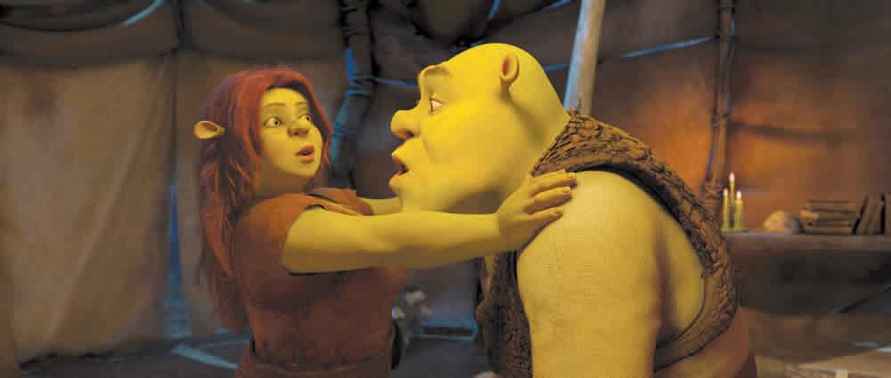 Shrek Forever After Fiona Shrek