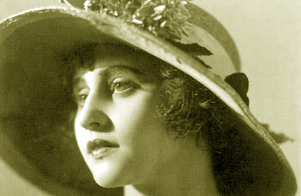 Silent movie Star Vera Kholodnaya