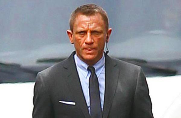 Skyfall Daniel Craig James Bond