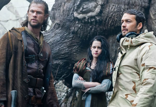 Snow White and the Huntsman Rupert Sanders director Kristen Stewart Chris Hemsworth