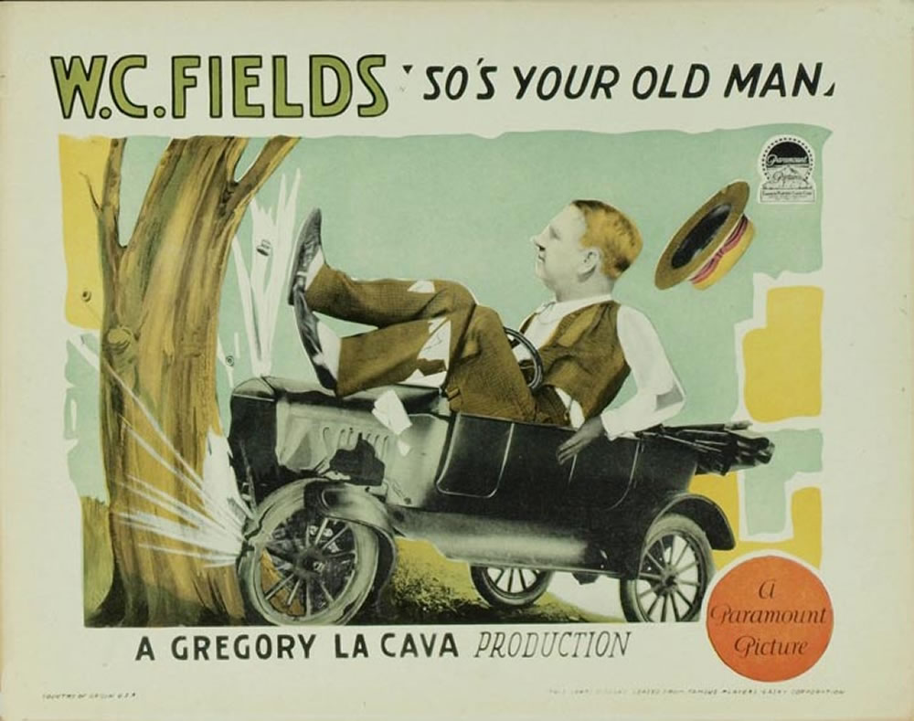So's Your Old Man, W.C. Fields poster
